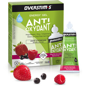 OVERSTIM.s Antioxydant Liquid Gel Box 10x30g, Red Berries